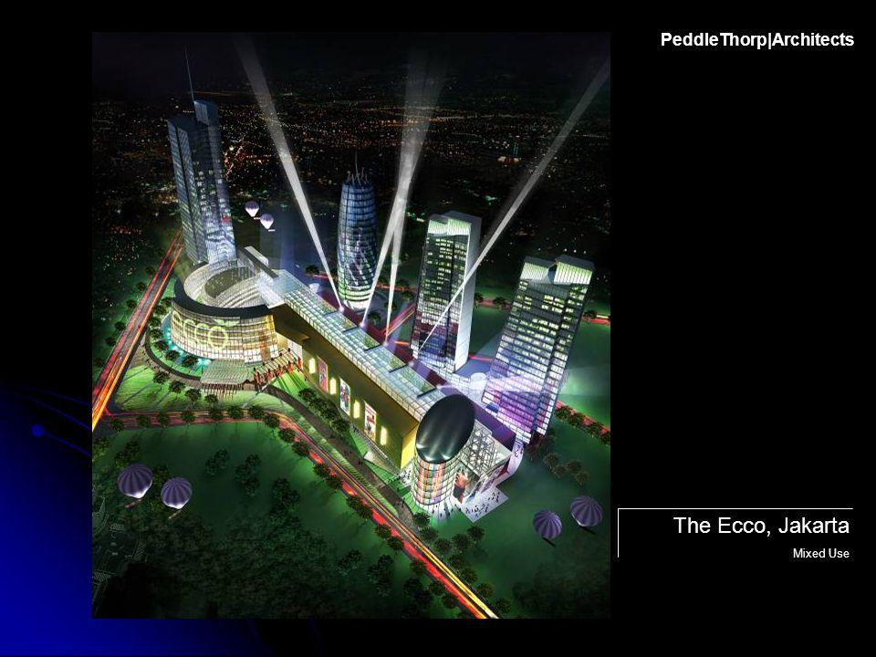 The Ecco, Jakarta Mixed Use PeddleThorp|Architects
