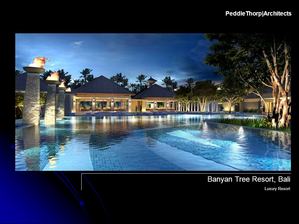 PeddleThorp|Architects Berawa Resort, Indonesia Luxury Resort and Private Condominiums