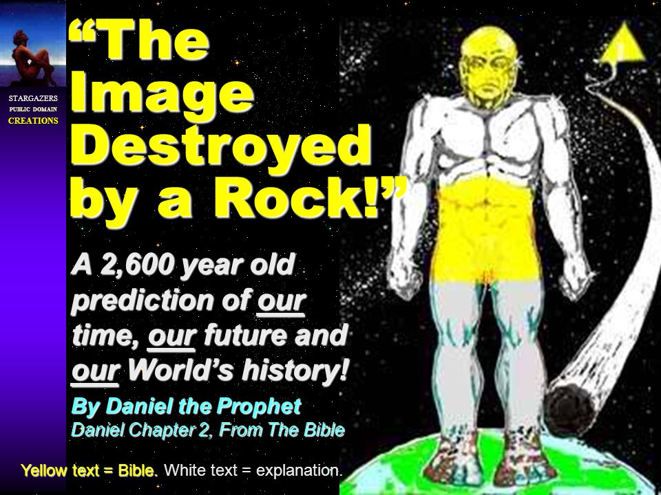 STARGAZERS PUBLIC DOMAIN CREATIONS A 2,600 year old prediction of our time, our future and our Worlds history.