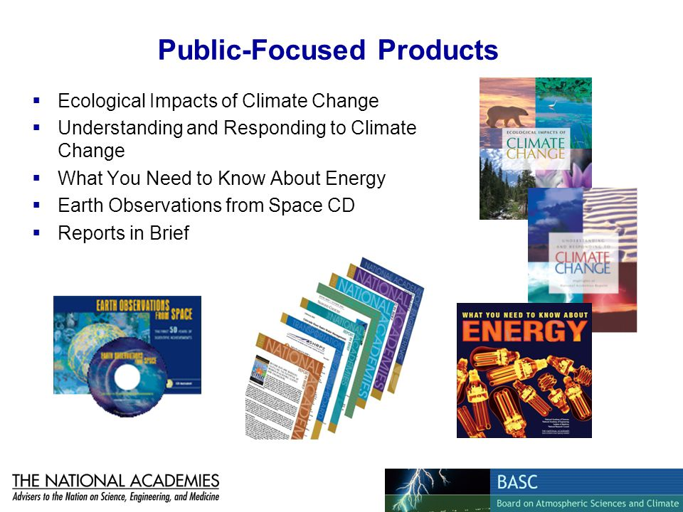 Public-Focused Products Ecological Impacts of Climate Change Understanding and Responding to Climate Change What You Need to Know About Energy Earth O