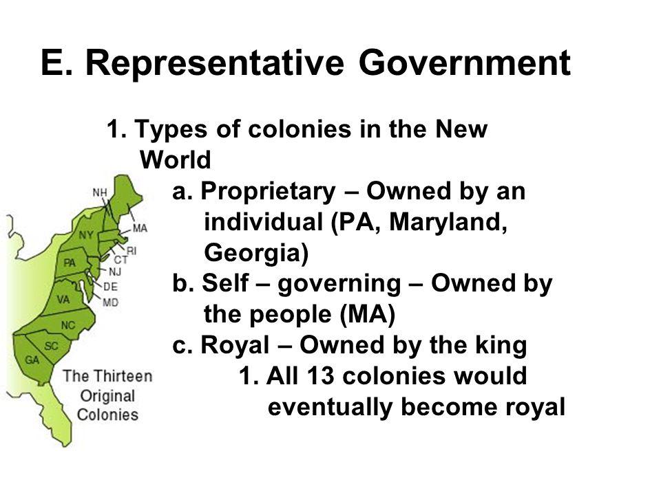 2.Mayflower Compact (Nov. 11, 1620) 1. First representative government in America 2.