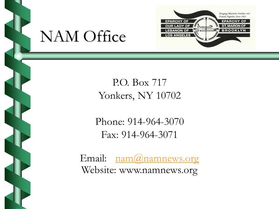 NAM Office P.O.