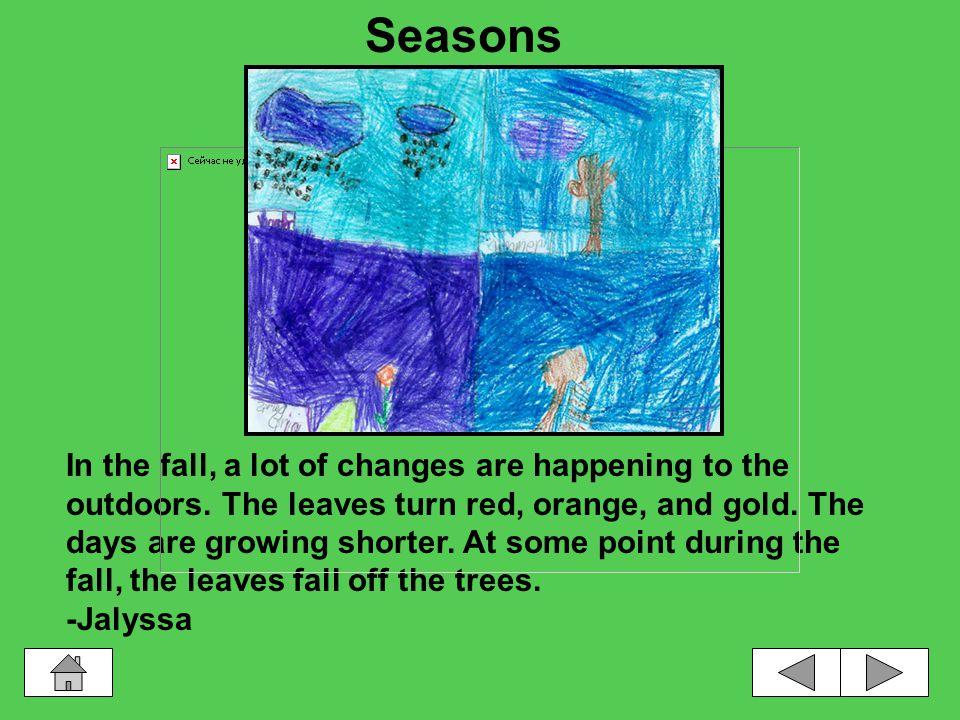 Seasons SeasonsWinter Seasons