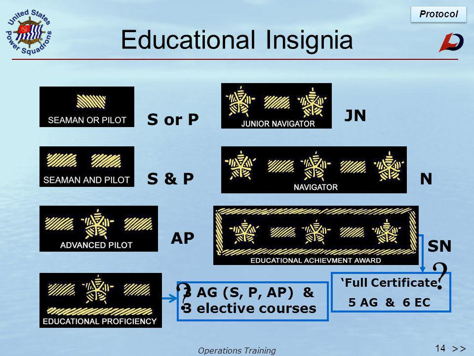 Operations Training Blazer Patch Tridents Gold = current Silver = past 13 >>