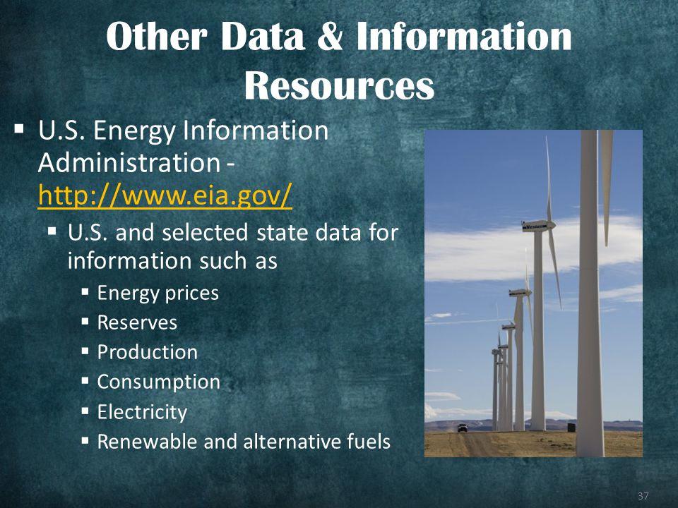 37 U.S. Energy Information Administration - http://www.eia.gov/ http://www.eia.gov/ U.S.