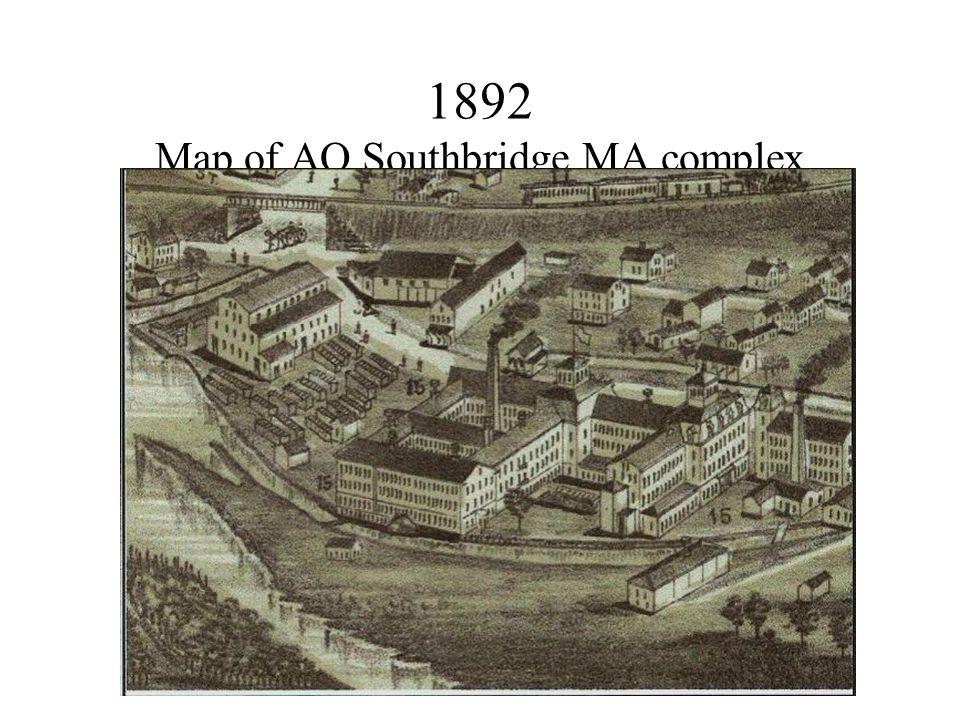 1892 Map of AO Southbridge MA complex