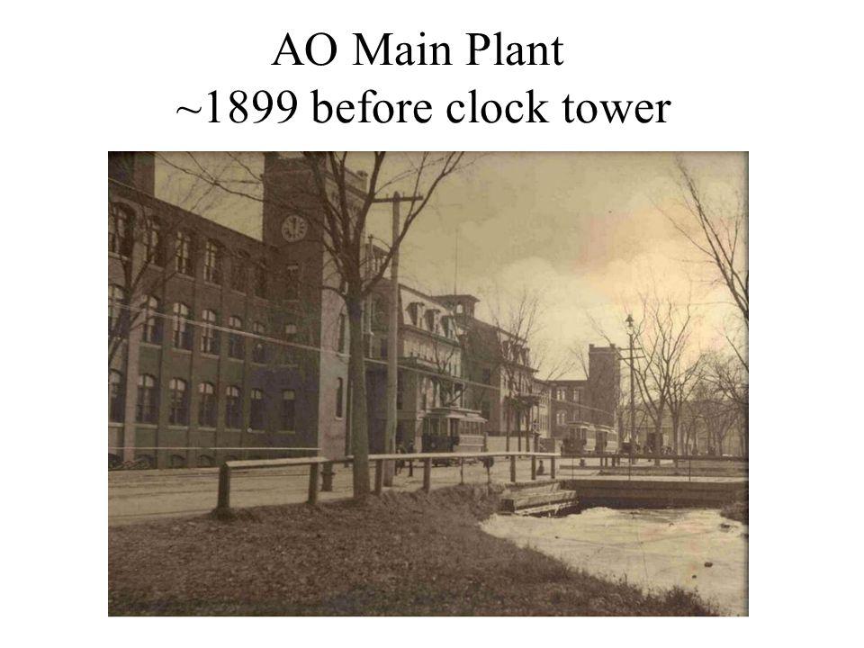 AO Main Plant ~1899 before clock tower