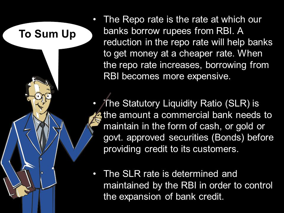 Hope you have now understood the concept of Repo Rate & SLR.