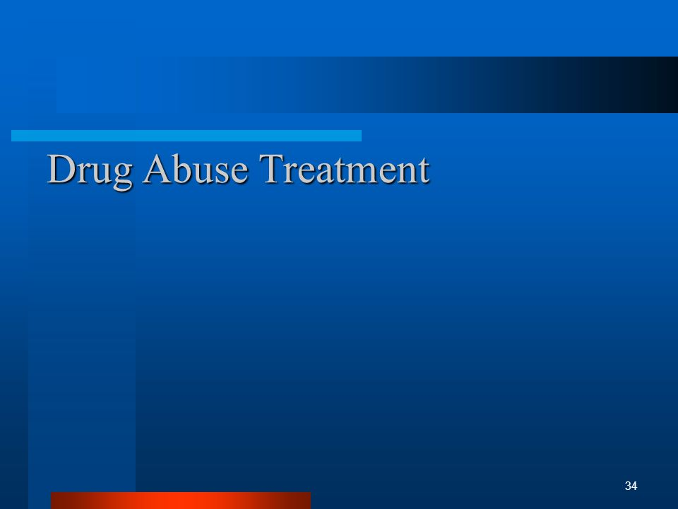 Drug Abuse Treatment 34