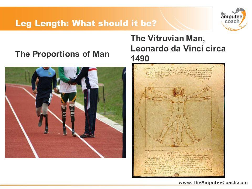 Leg Length: What should it be.