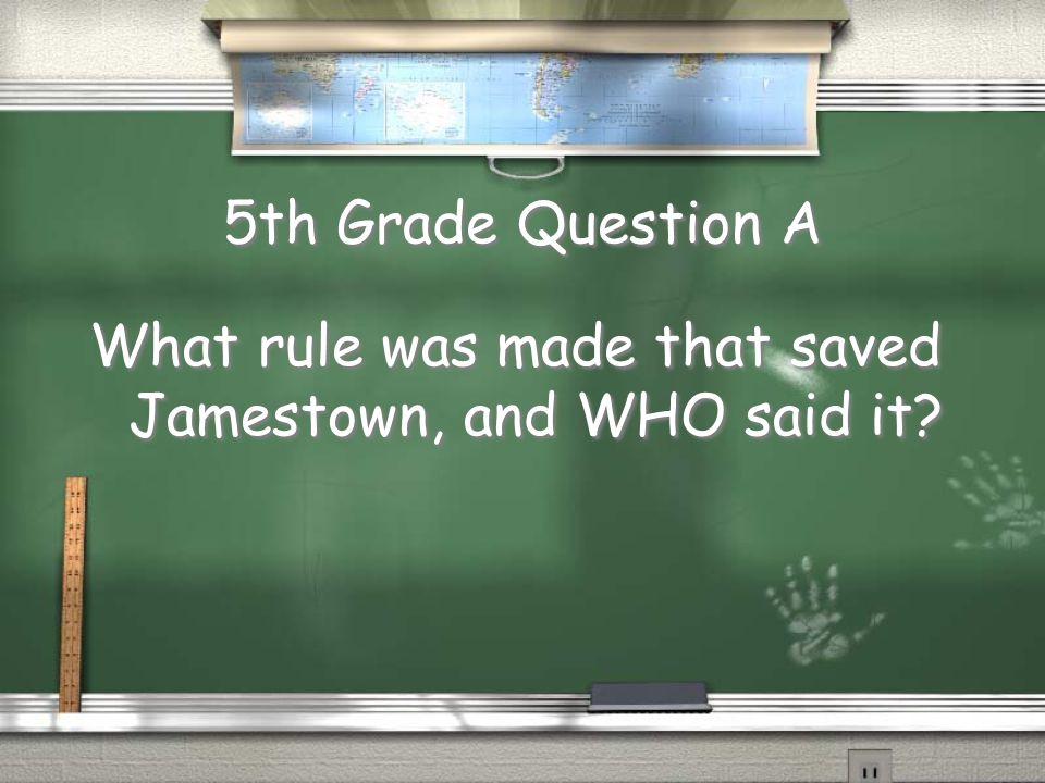 1,000,000 5th Grade A 5th Grade B 4th Grade A 4th Grade B 3rd Grade A 3rd Grade B 2nd Grade A 2nd Grade B 1st Grade A 1st Grade B 500,000 300,000 175,000 100,000 50,000 25,000 10,000 5,000 2,000 1,000