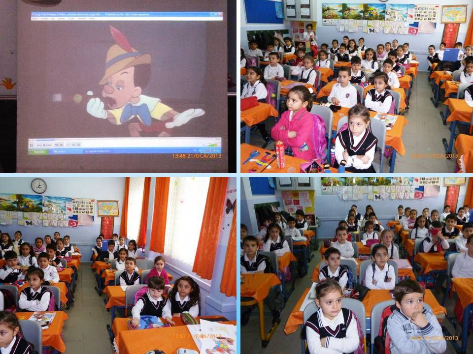 PINOCCHIO We all know the story of Pinocchio is related to honesty very much.So we told this story to our first classes and our nursery. The first cla