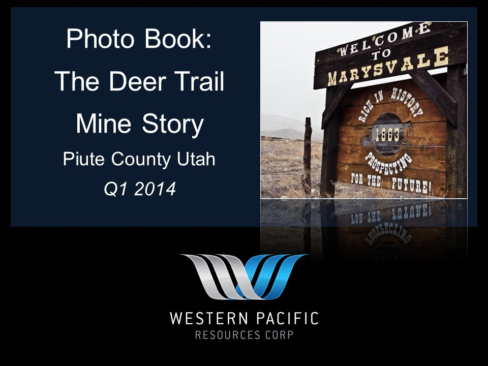 The Deer Trail Mine is located in the Marysvale Mining District of Piute County, Utah.