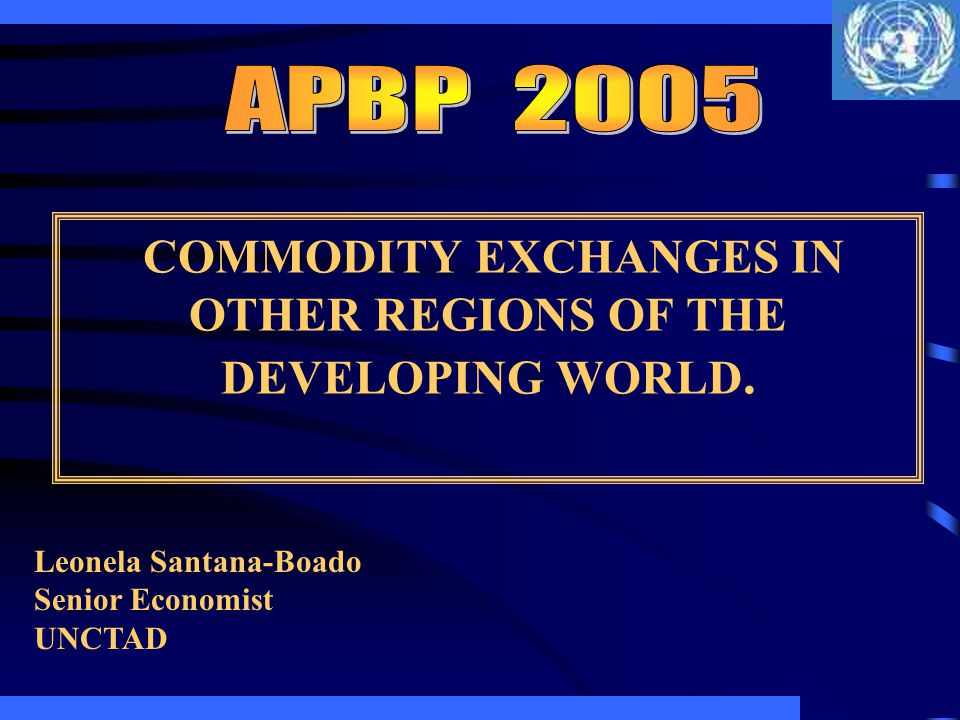 EXCHANGES IN AFRICA South Africa Africas most active and most important commodity exchange is the JSE Securities Exchange, South Africa that took over SAFEX in August 2001.