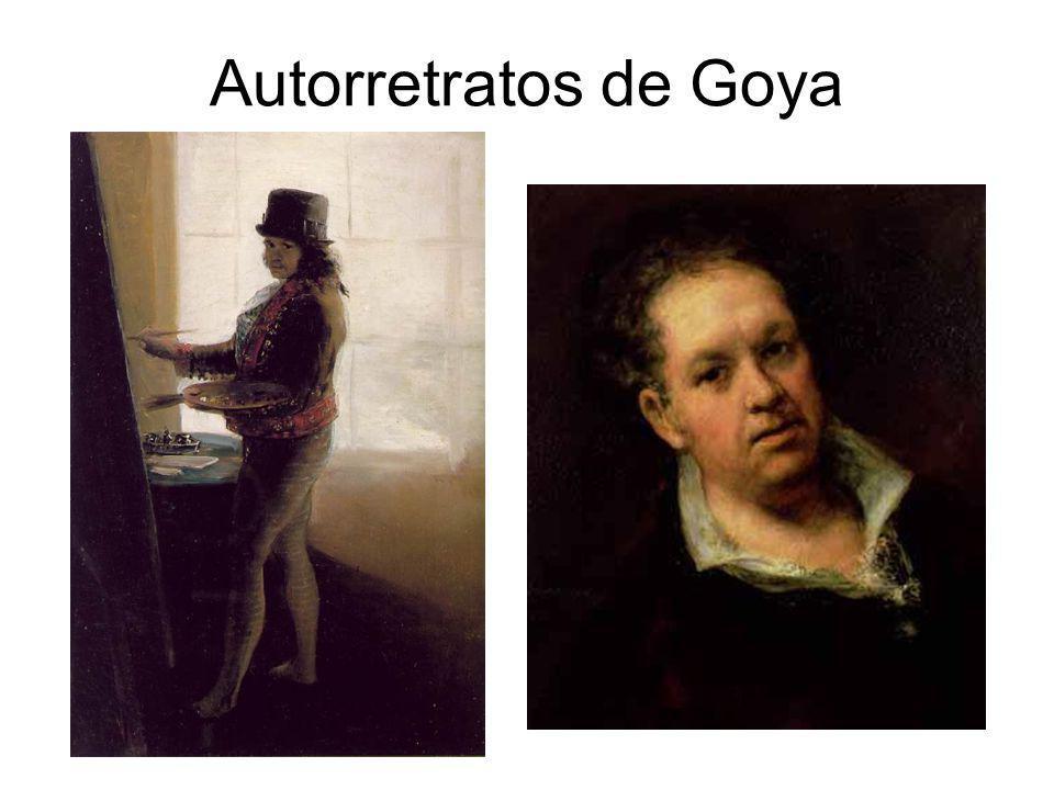 Autorretratos de Goya