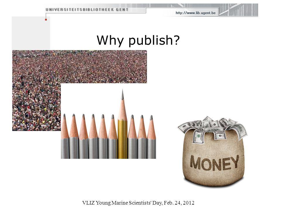Why publish.
