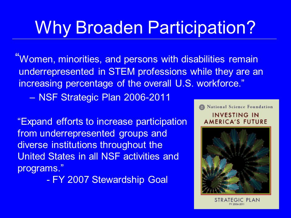 Why Broaden Participation.