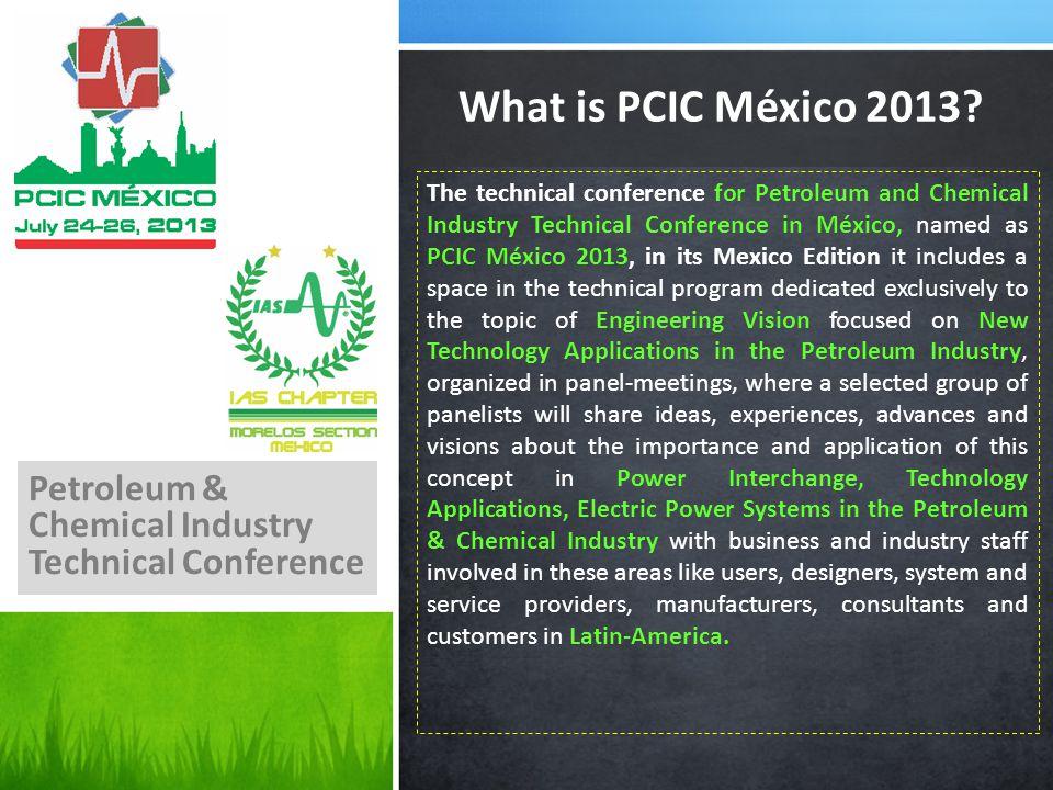 What is PCIC México 2013.