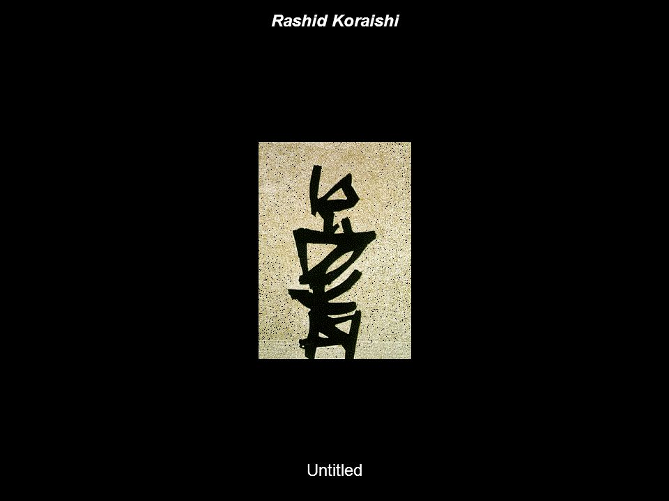 Untitled Rashid Koraishi