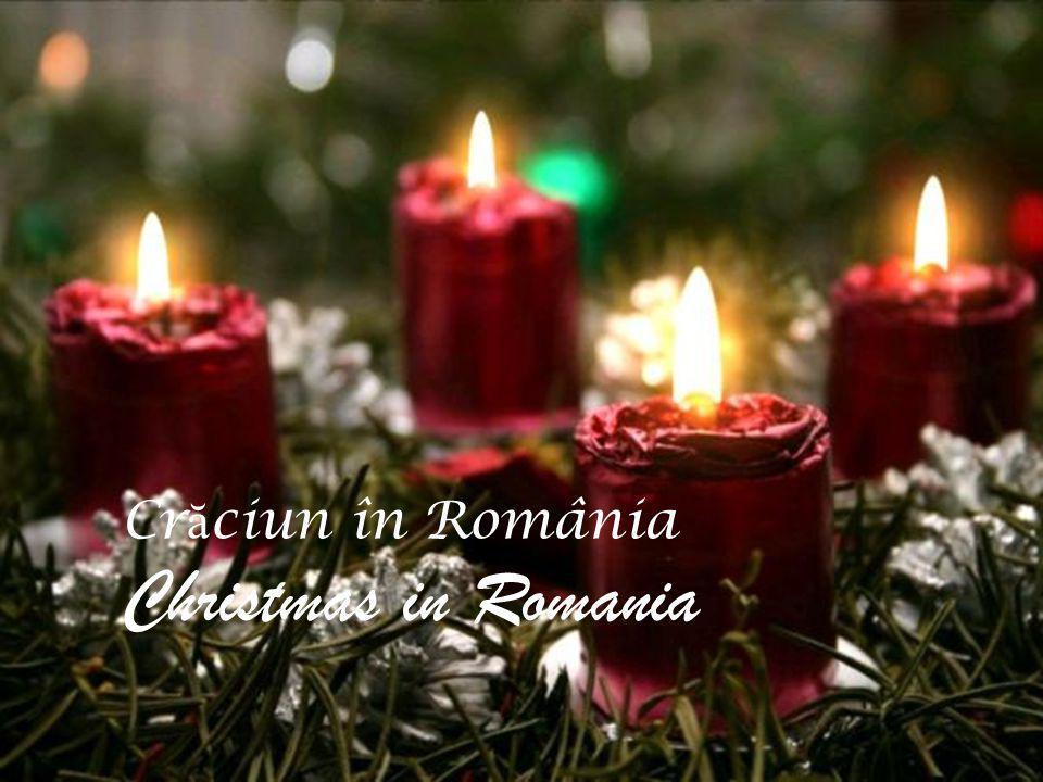 Cr ă ciun Fericit means Merry Christmasin Romanian