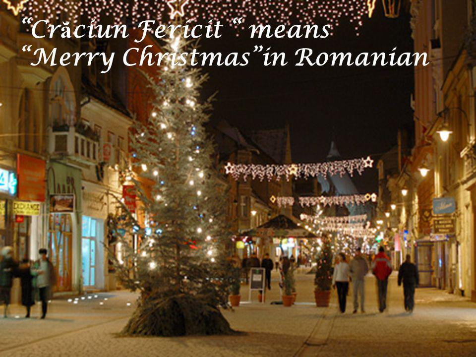 How to Celebrate a Romanian Christmas Step One : Arrange to go caroling in your village or town on Christmas Eve.