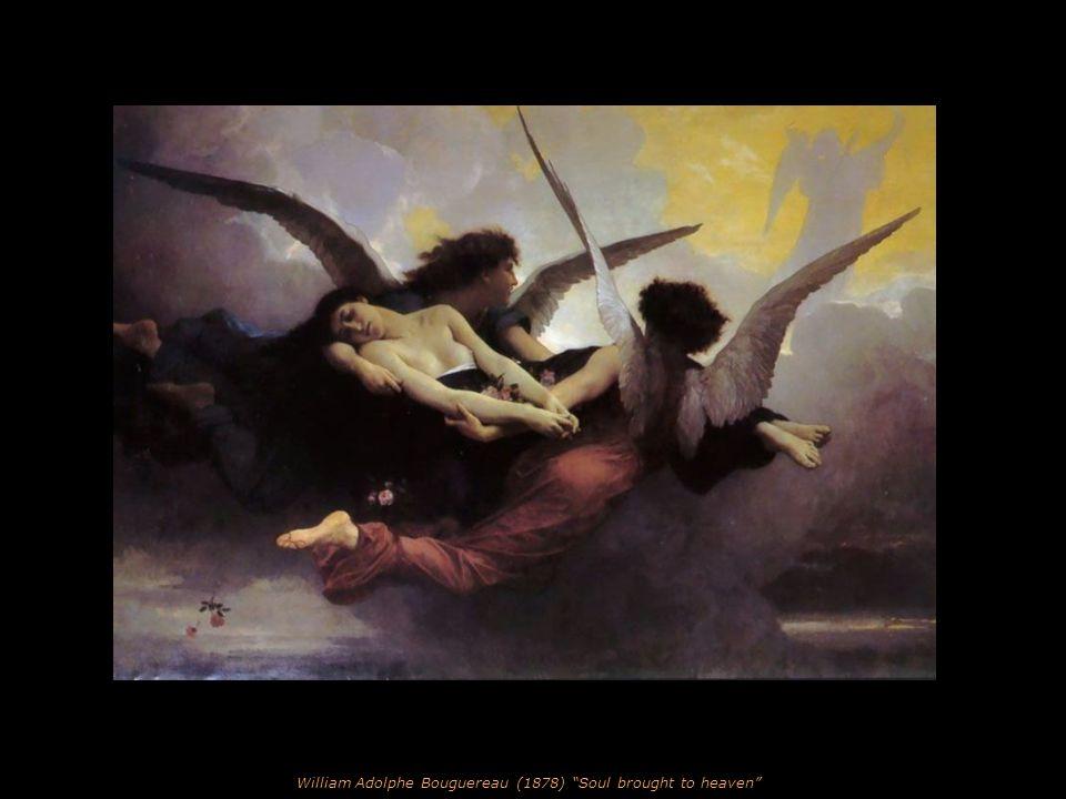 Leon Francois Comerre (1850-1934) Danaë and the Shower of Gold