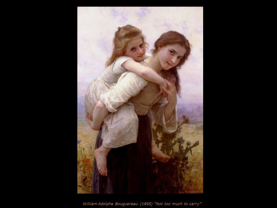 Edmund Blair Leighton (1901) The Accolade