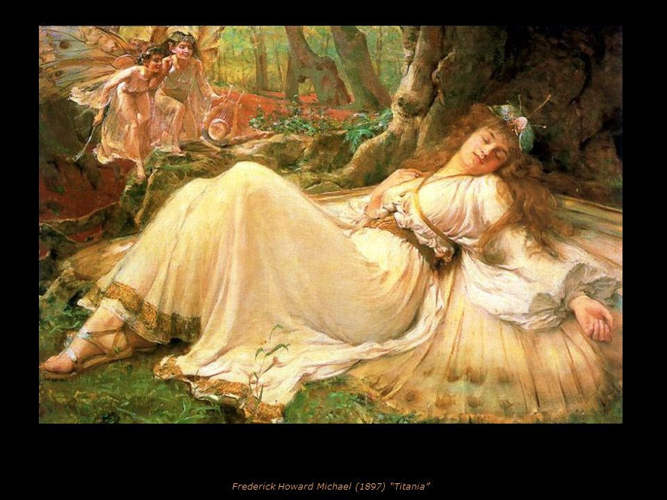 Sir Franck (Frances) Dicksee (1853-1928) Portrait of Elsa Hall