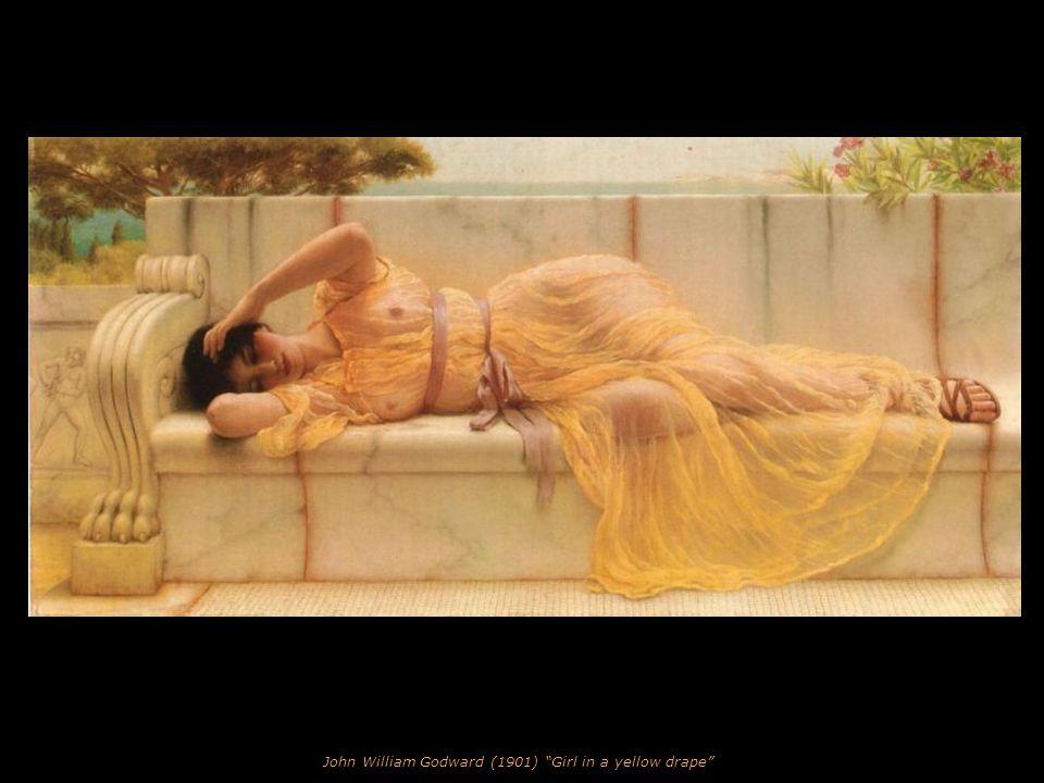 John William Godward (1899) Idleness