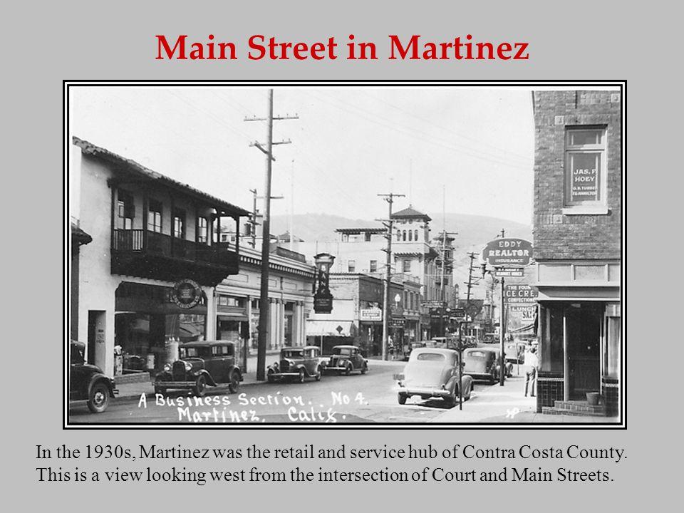 Muir Train Station Martinez had two train stations.