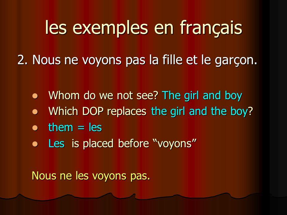 Traduisez en français 1.I love you (sing).Je t aime.