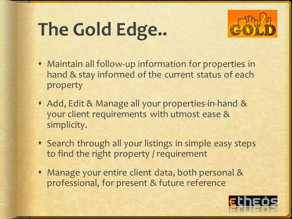 The Gold Edge..