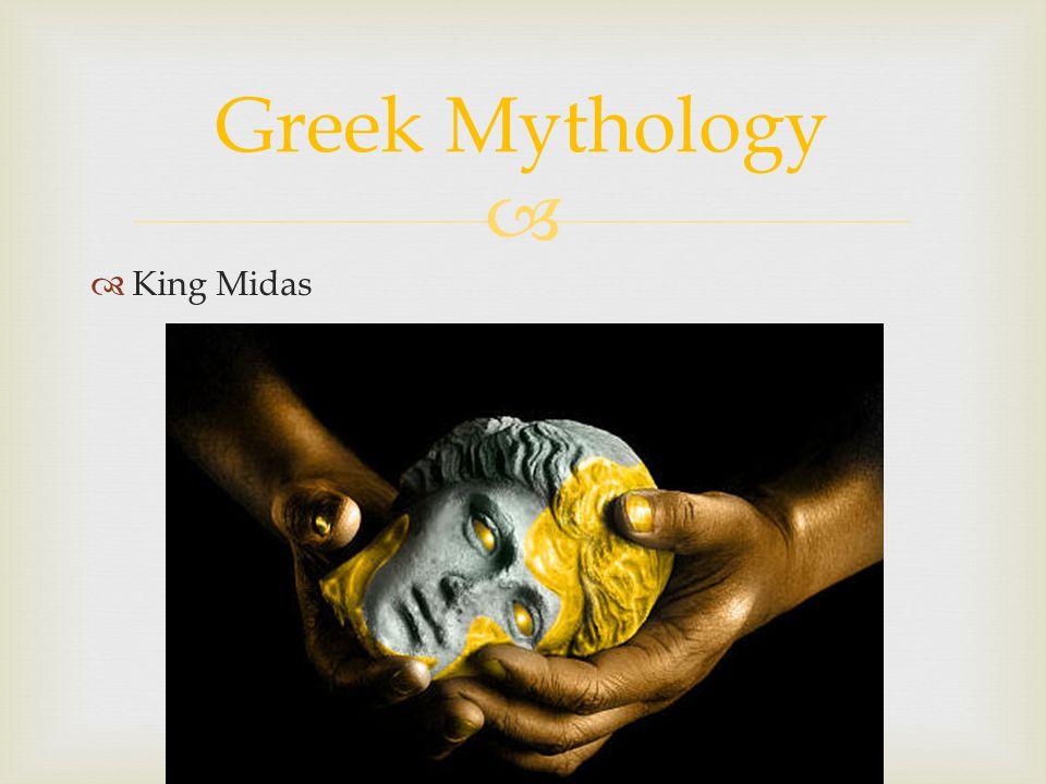 King Midas Greek Mythology