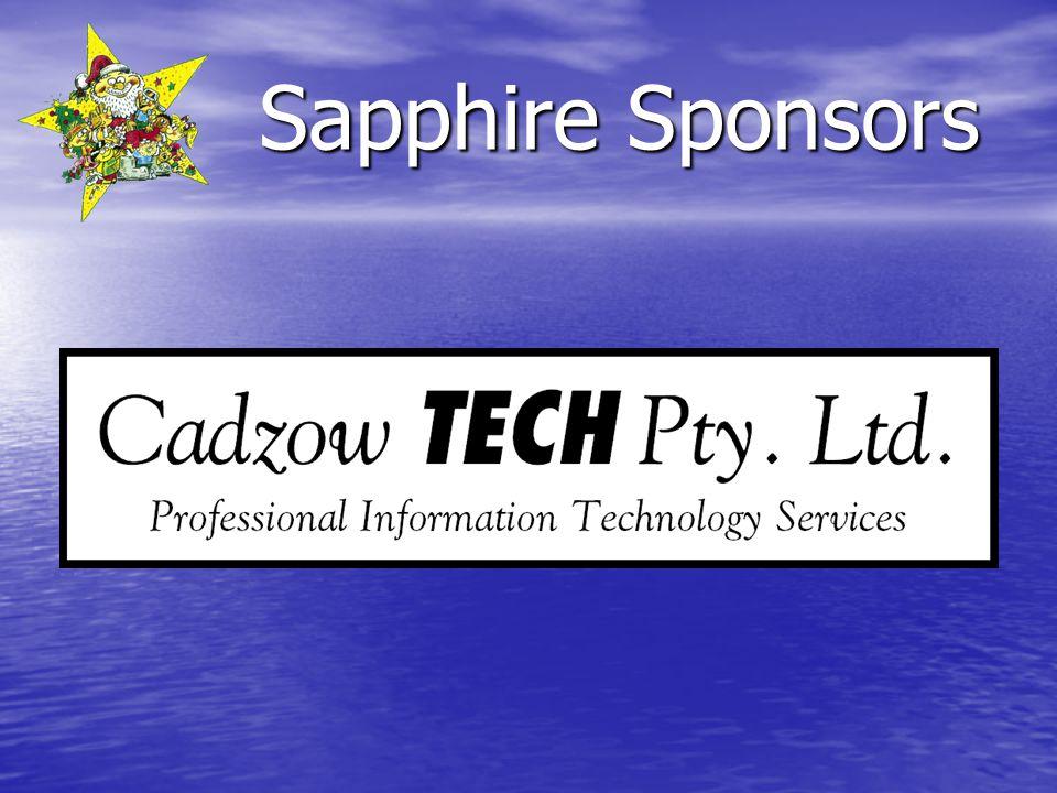 Sapphire Sponsors