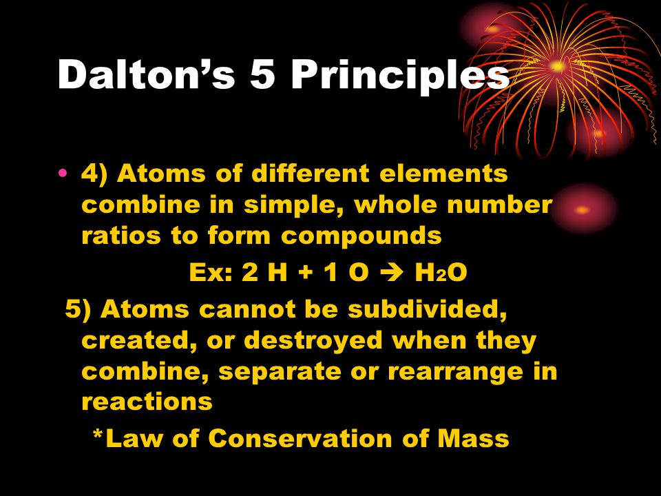 Problems with Daltons ideas JJ Thomson was able to prove that atoms were made of smaller particles that contained charge Sent electricity through a cathode ray tube – gas inside glowed