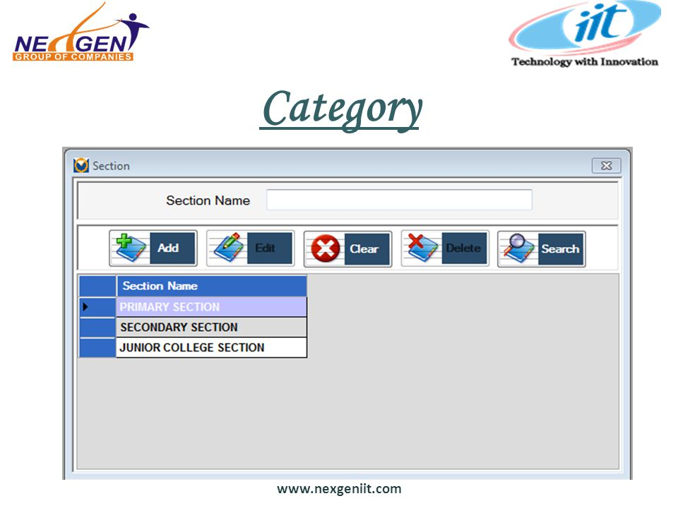 www.nexgeniit.com Category