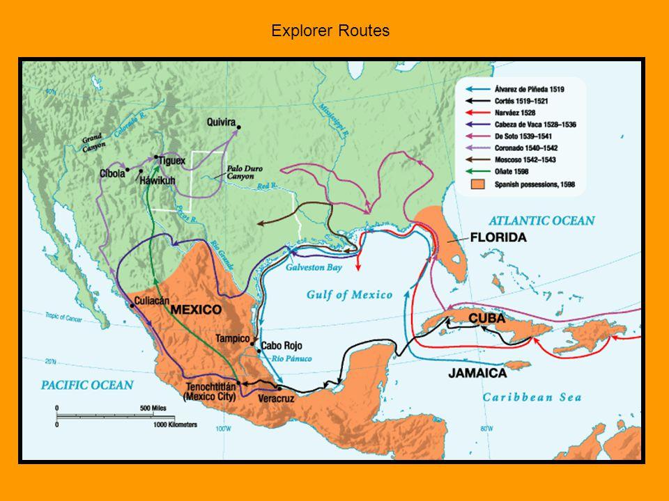 Explorer Routes