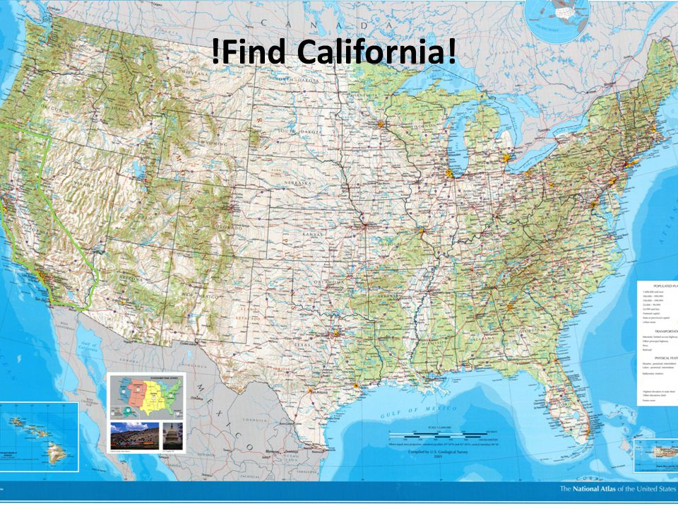 !Find California!