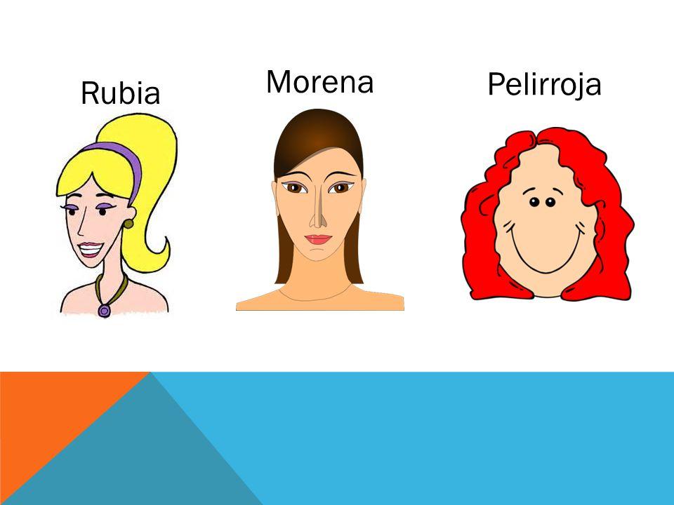 Rubia Morena Pelirroja