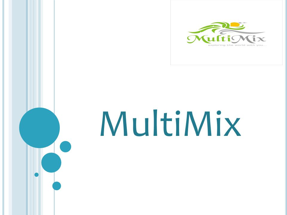 E NTRY B OARD When you are introduced to MultiMix, joining with R900.00 you immediately gain access to our exciting product, enjoying preferential prices with our partners.