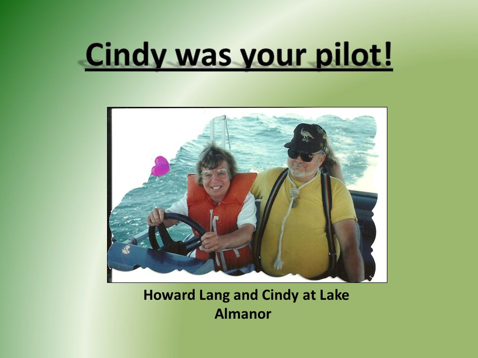 Howard Lang and Cindy at Lake Almanor