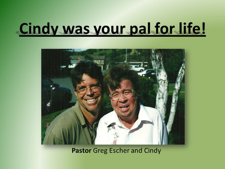 Pastor Greg Escher and Cindy