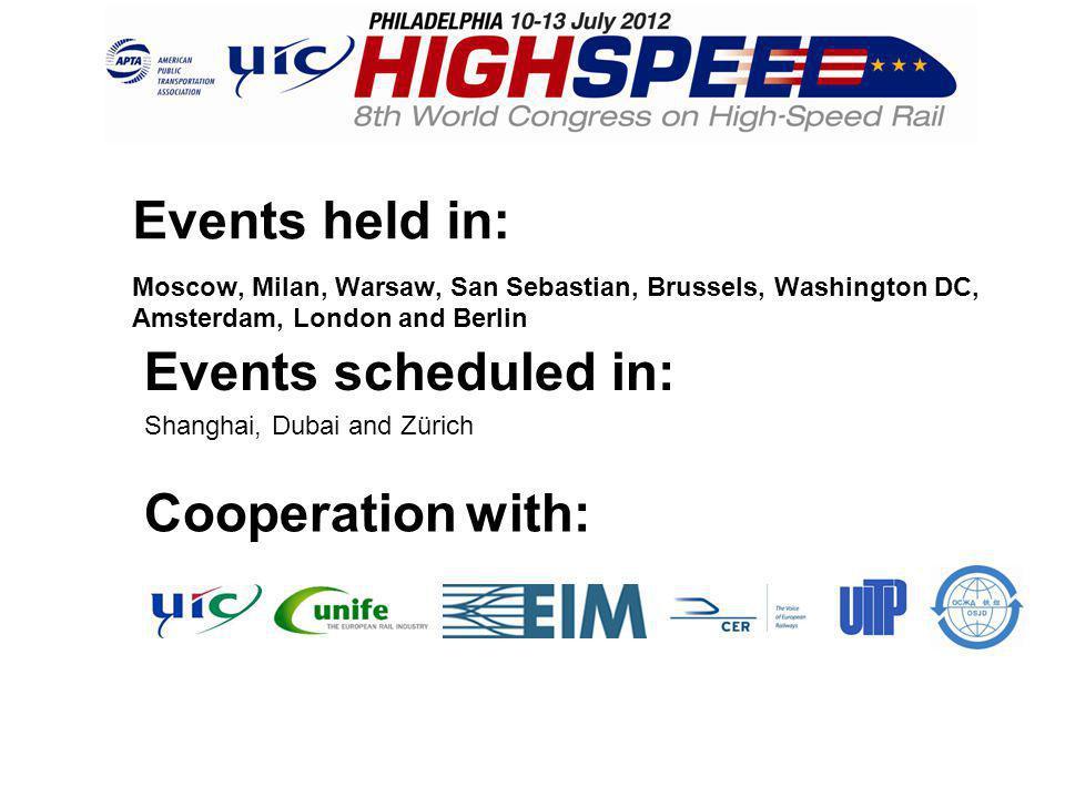 Get on board: www.uic-highspeed2012.com