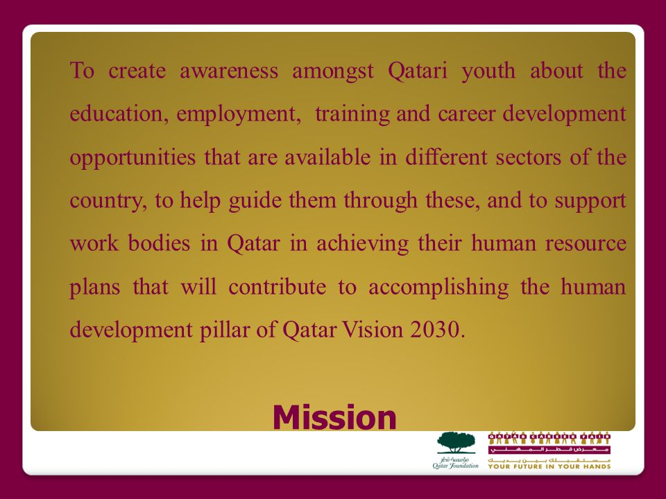 Exhibitors Report about Qatar Career Fair 2012 Results