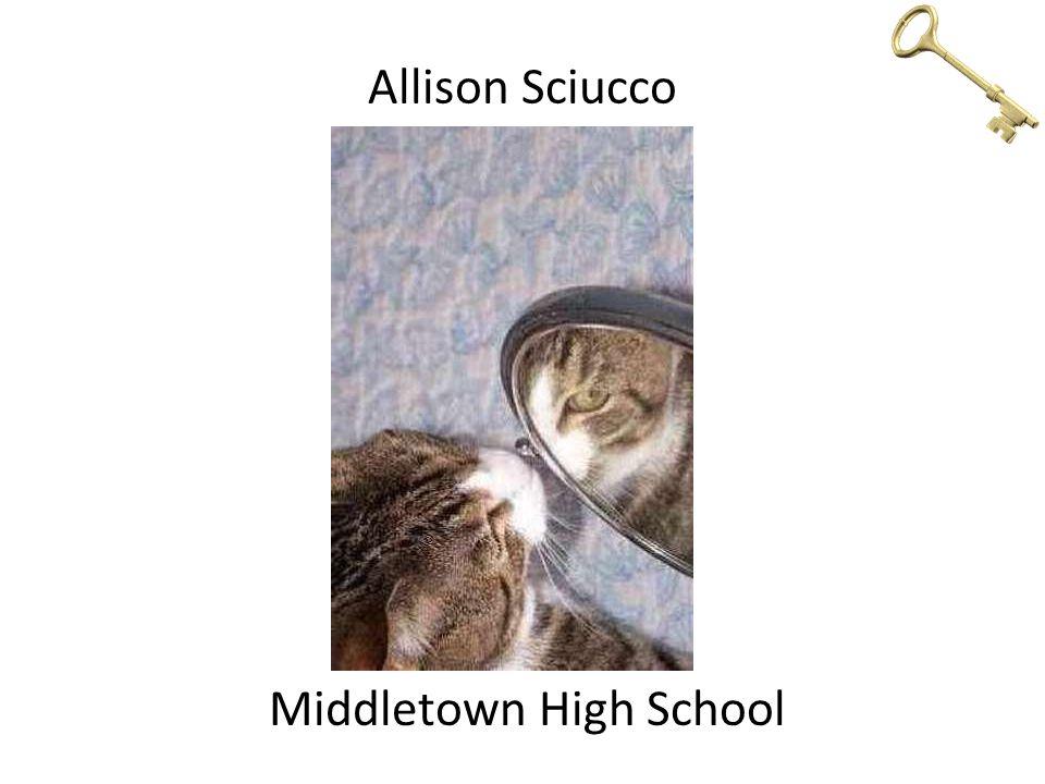 Allison Sciucco Middletown High School