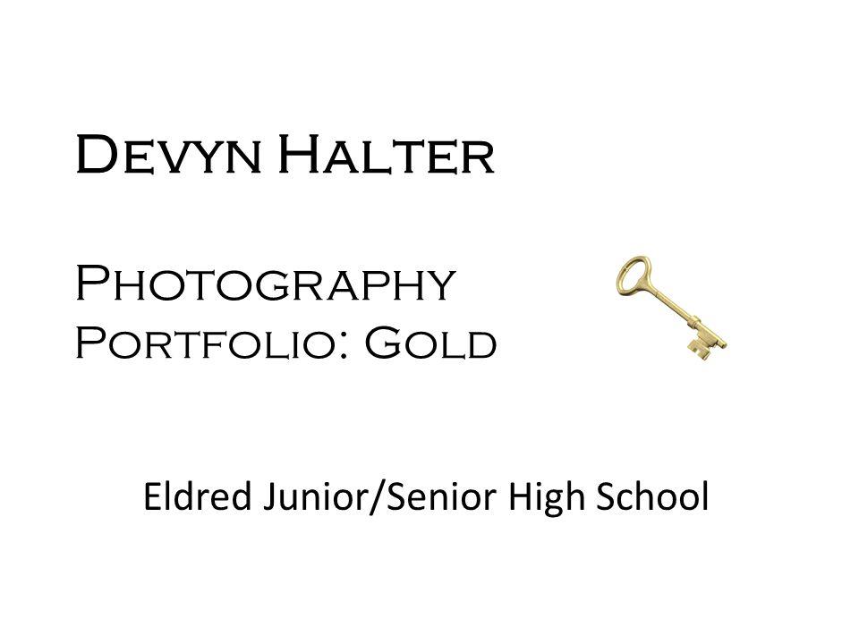 Devyn Halter Photography Portfolio: Gold Eldred Junior/Senior High School
