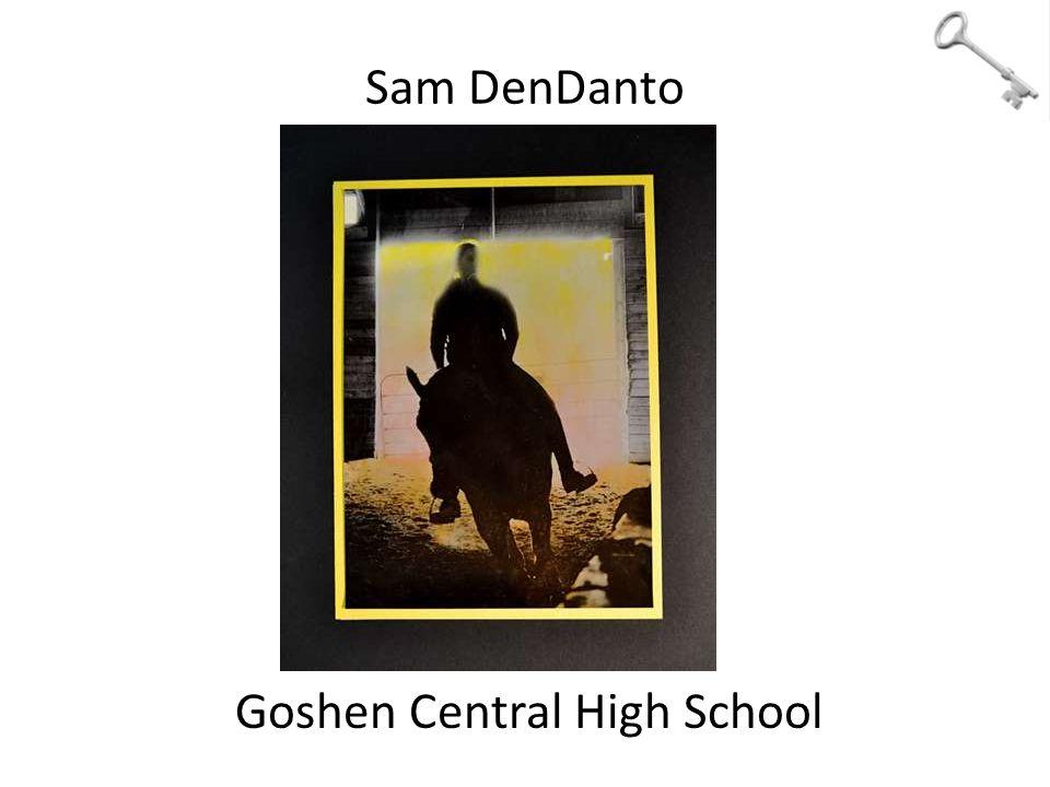 Sam DenDanto Goshen Central High School