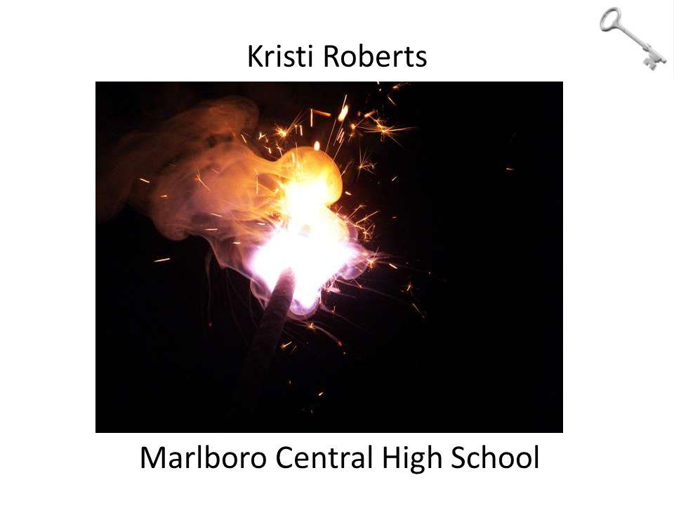 Kristi Roberts Marlboro Central High School