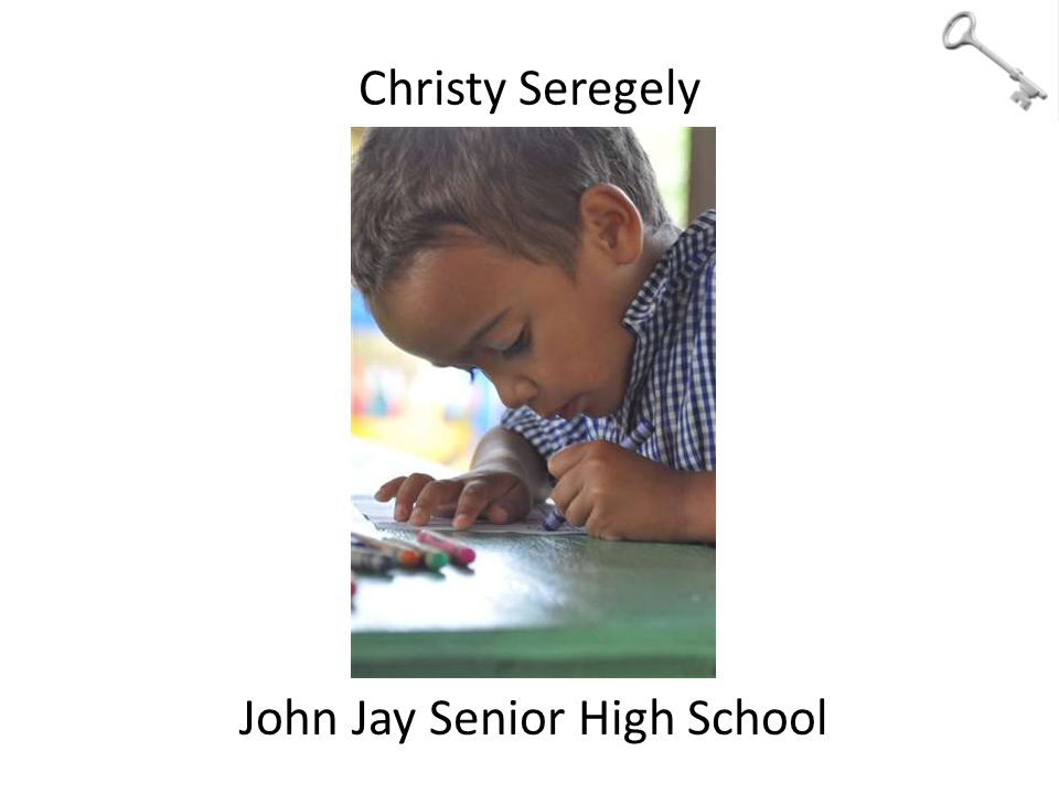 Christy Seregely John Jay Senior High School