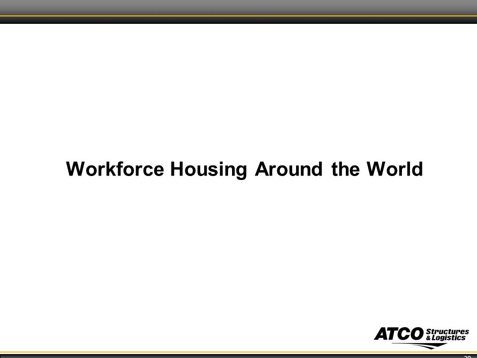 20 Workforce Housing Around the World